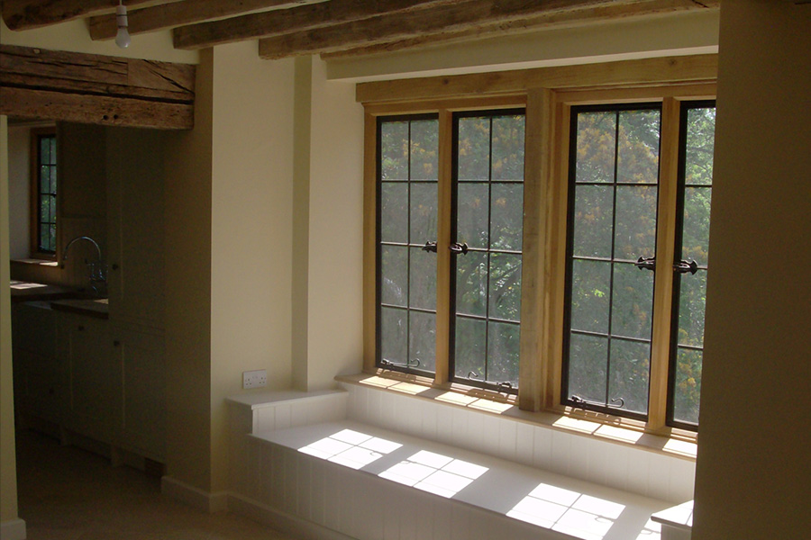 After: One of the new windows
