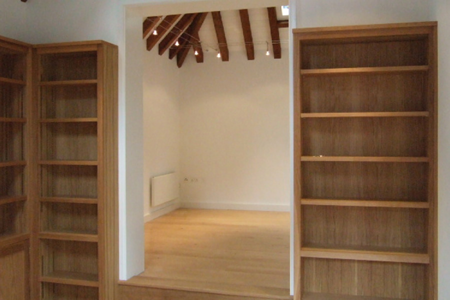After: Light interior with bespoke woodwork