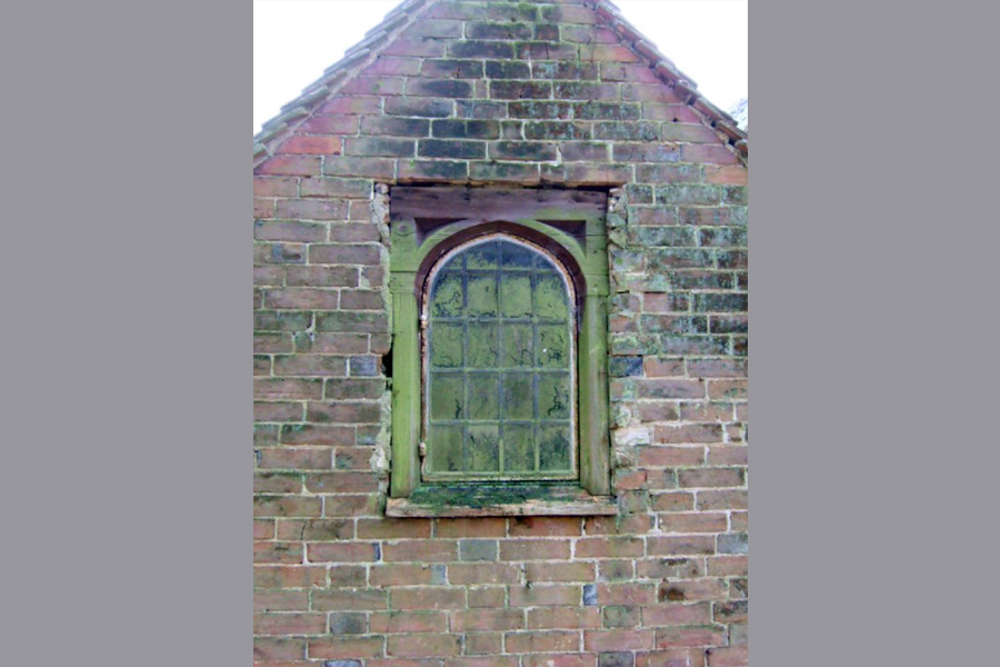 Before: The old window
