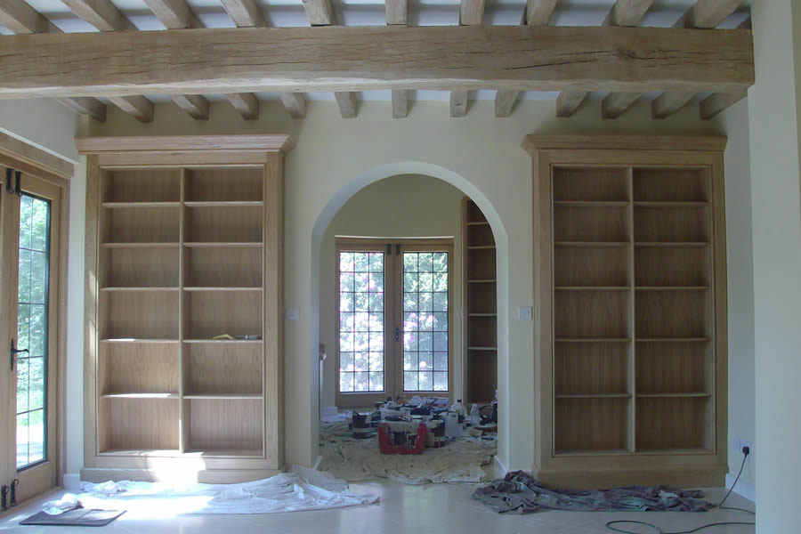After: Our bespoke joinery